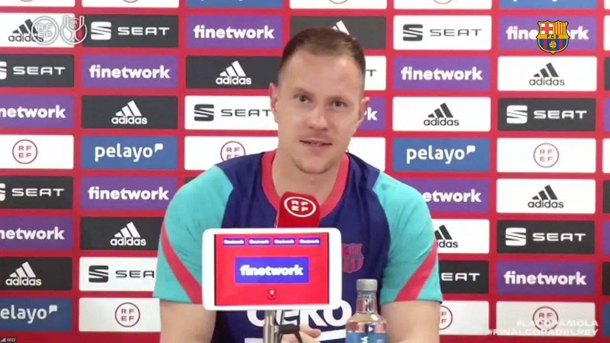 ❝We still have that game we played here last time fresh in our memories.❞       — @mterstegen1 on facing Athletic in another final at La Cartuja https://t.co/F3ARRKvWyX