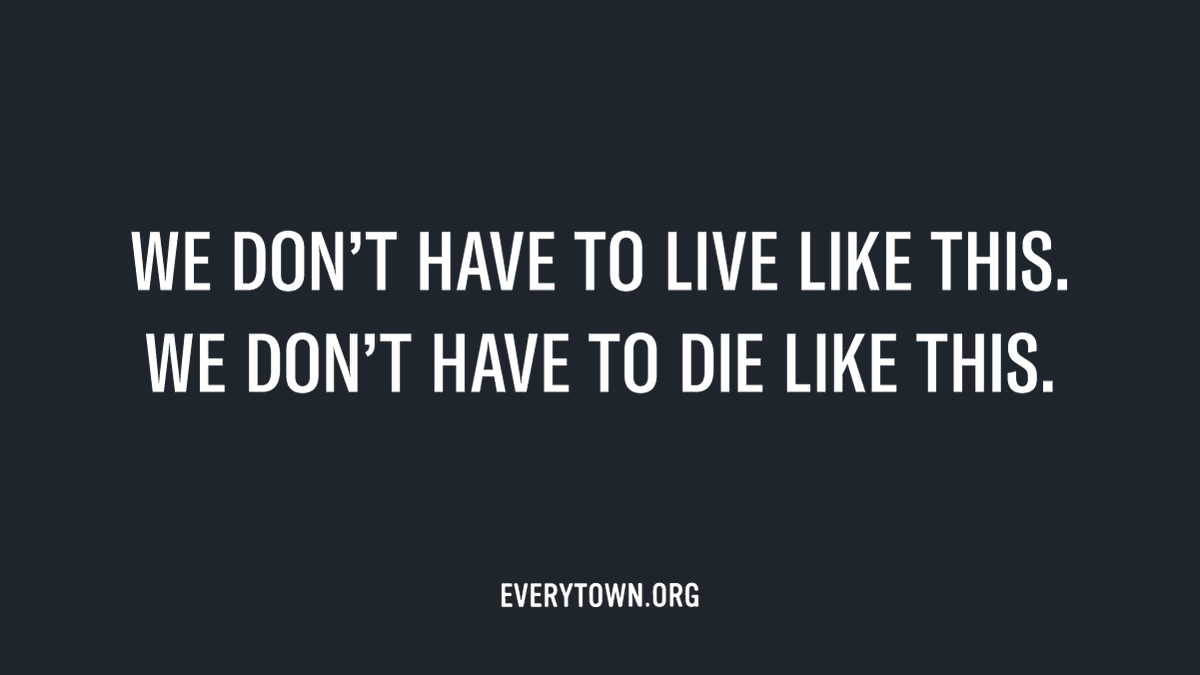 THREAD: America's gun violence crisis has been on full display in the past week; we've seen countless horrific acts of gun violence across the country, including at the hands of law enforcement.