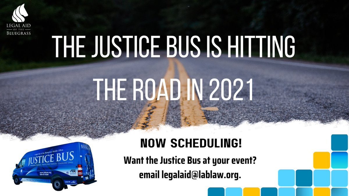 The #justicebus is an incredibly important service from @_LABG. It is essential to providing civil legal aid in each of the 33 counties served without the need for the client to visit a physical office. #accesstojustice #legalaid @LSCtweets https://t.co/2rjSCVfoY5