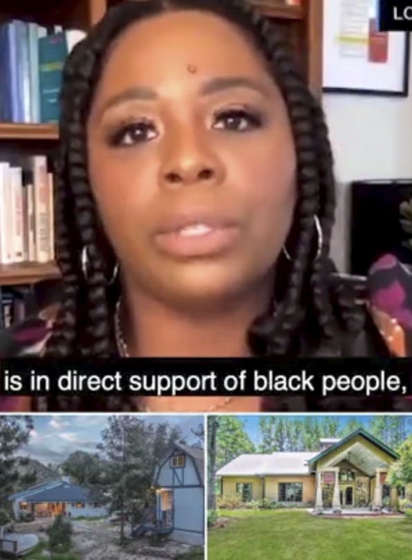 BLM co-founder DEFENDS her property empire and says she didnt use BLM funds to buy four home Read more: trib.al/5u4ZuV1