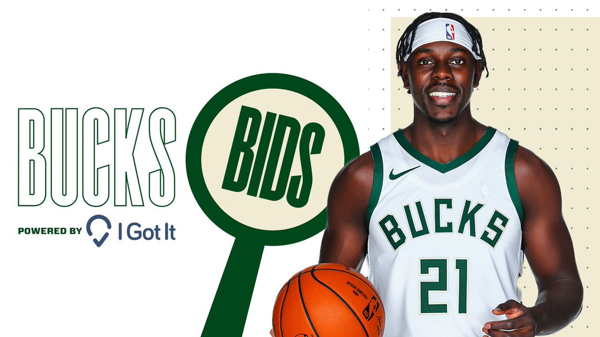 Hey Milwaukee - Check out 👀 Bucks Bids on the Bucks team app to get my game-used gear! Click 👇🏾   https://t.co/349UUFv9az https://t.co/hlStHwYcgX