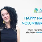 Image for the Tweet beginning: April is #NationalVolunteerMonth! Thank you