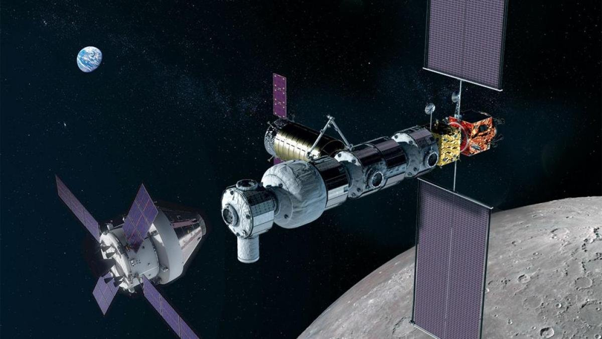 Gateway NASA Orion SLS Starship Orbita lunar