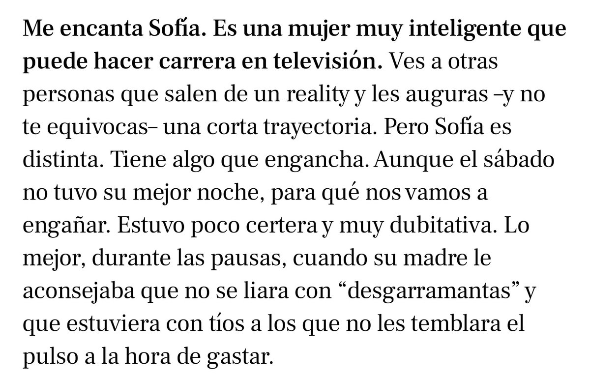 RT @beyxcun: Jorge Javier sobre Sofia Suescun ❤️ https://t.co/9fYCx0omNN