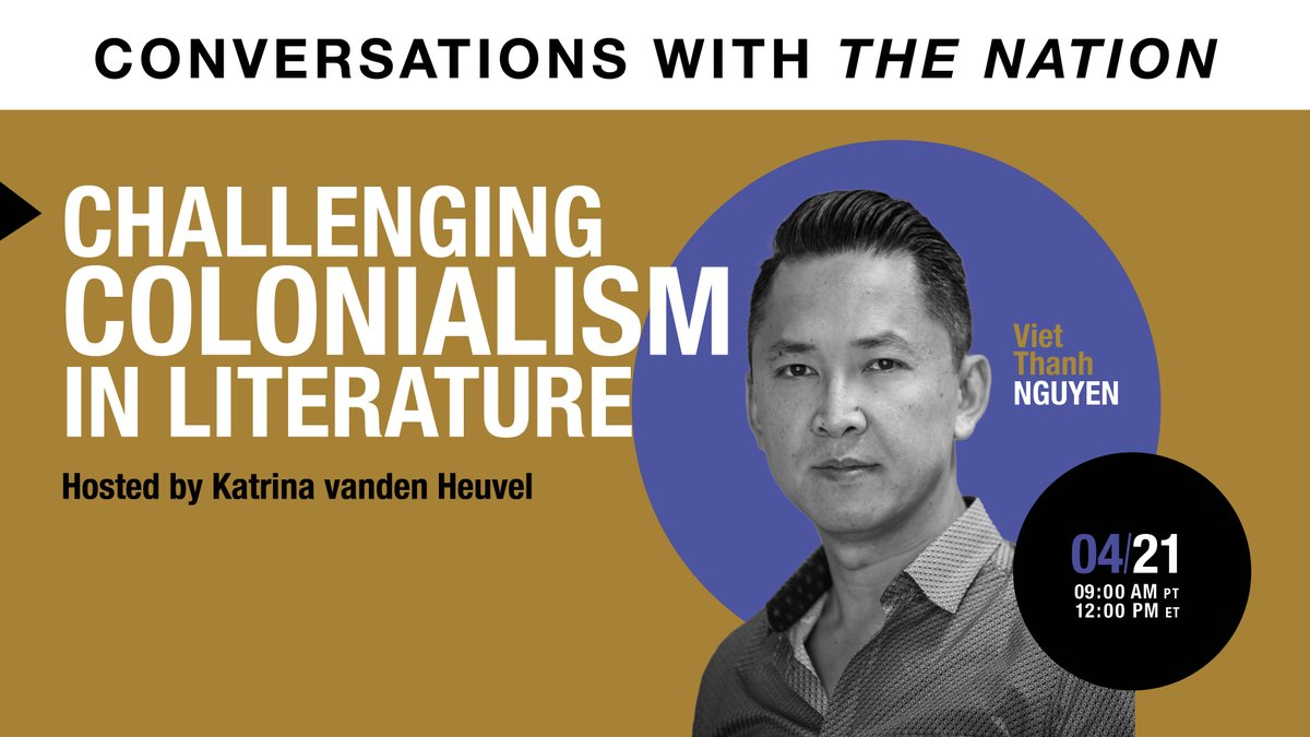 Join @viet_t_nguyen in conversation with @KatrinaNation discussing his own experience as a refugee in America, anti-Asian violence through history, and some of the ways he thinks people can help their communities. https://t.co/GVS6bnGHVu https://t.co/vCjLYU5jS1