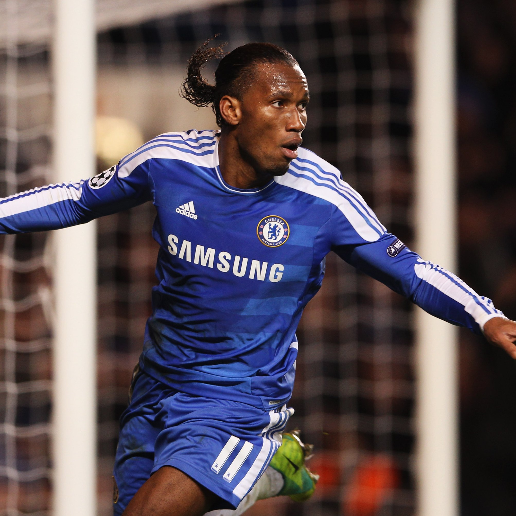 DROGBA IN TRIBUTE TO EVERTON, LIVERPOOL