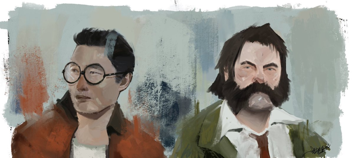 RT @Wonder_Phoenix: Okay hear me out, Nick Offerman and Daniel Dae Kim as the detectives in Disco Elysium. https://t.co/1ZRnT6aISi