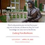 [CALENDAR] #DailyMotivation from Ludwig Van Beethoven. #HPU365