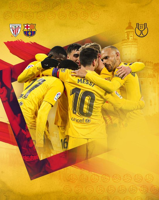 مباراة اليوم   برشلونة  أتلتيك بيلباو   نهائي