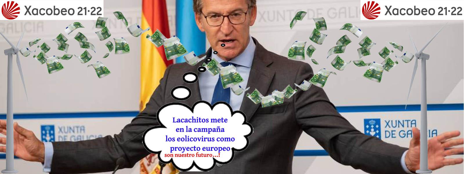"XornaldeGalicia on Twitter: ""Feijóo y asesora PPdeG aseguran su futuro  regalando #Xacobeo21-22 a eólicas ; @jordievole @delbarriotv @salvadostv  @AntonioMaestre @COPE @diariARA @DebatAlRojoVivo @laSextaTV @orodil  @obloque @telecincoes @telediario_tve ..."