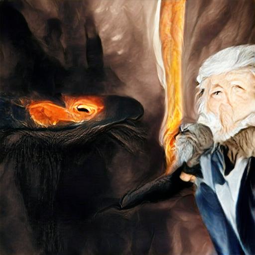 Big Sleep - Gandalf and the Balrog