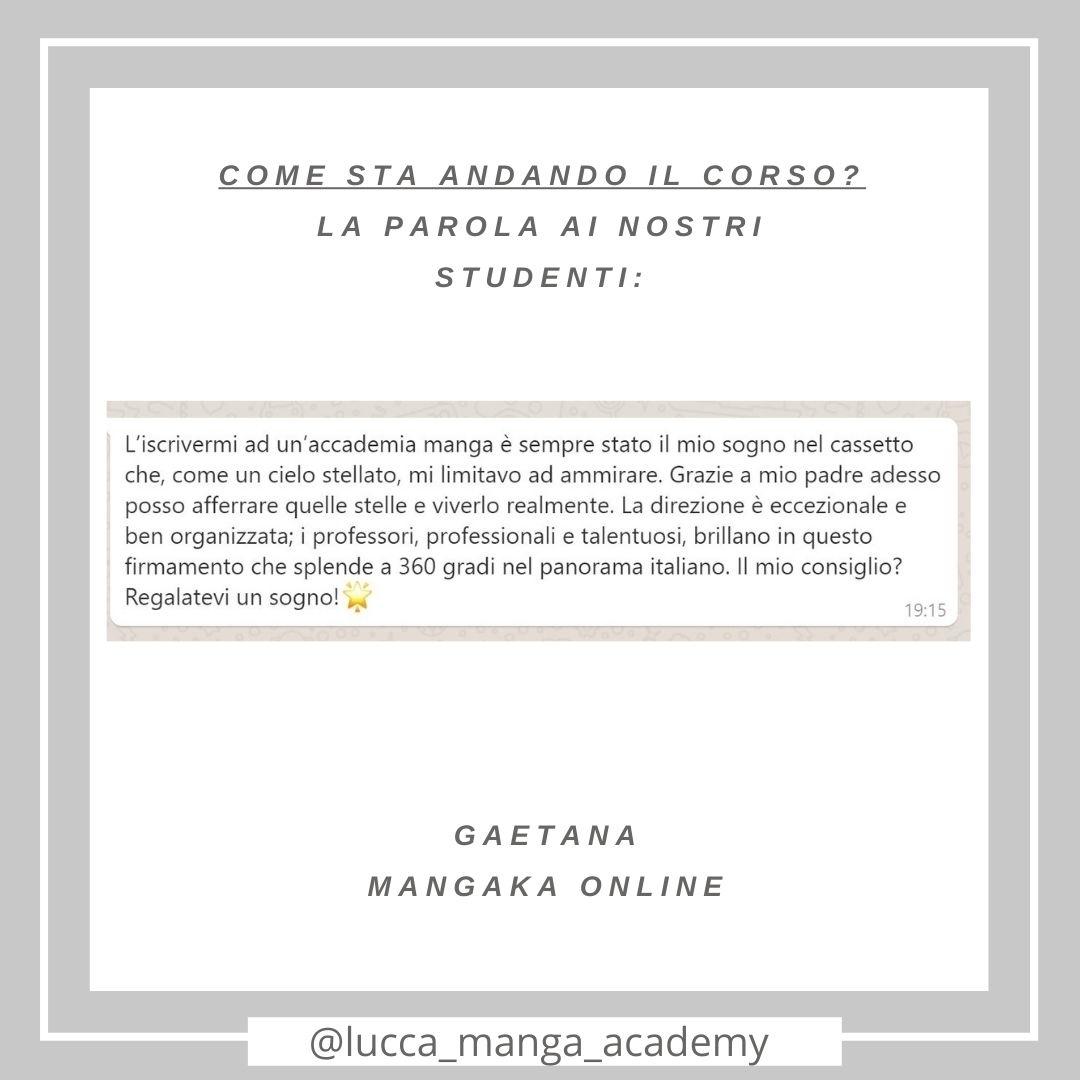 Sabato feedback! ✏️💬🖌️ #grazie #recensioni #mangakaonline #corsionline #lma #scuoladimanga #corsidimanga https://t.co/EUMkZGuGPM