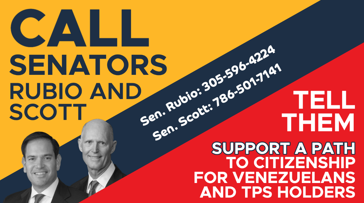 Thank you, Gracias! To Democrat @ChrisVanHollen for intro. #SECUREact it's time for @marcorubio and @SenRickScott to step up in support of the #Venezuelan people and Co-sponsor. #TPS2Citizen #Bipartisan #Bipartidismo