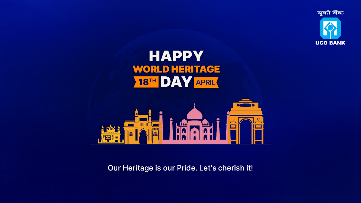Lets embrace our Heritage every day with glory and pride. UCOBank wishes you HappyWorldHeritageDay https t.co fOvBH8yegJ
