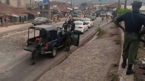 Police Commandeer Venue Of Yoruba Self-Determination Rally In Ibadan