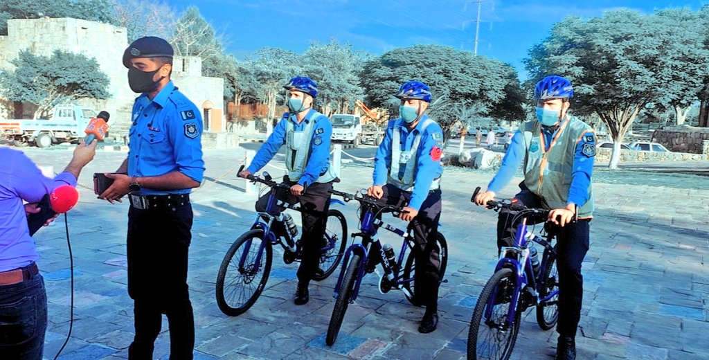 Enhancement of Bike Patrolling Squads at F9 Park and Faisal Mosque. They will provide the visitors with an inherent sense of security and guardianship.@ICT_Police @DigIslamabad @syedmustafapsp @hamzashafqaat @AniqaNisar @arsched