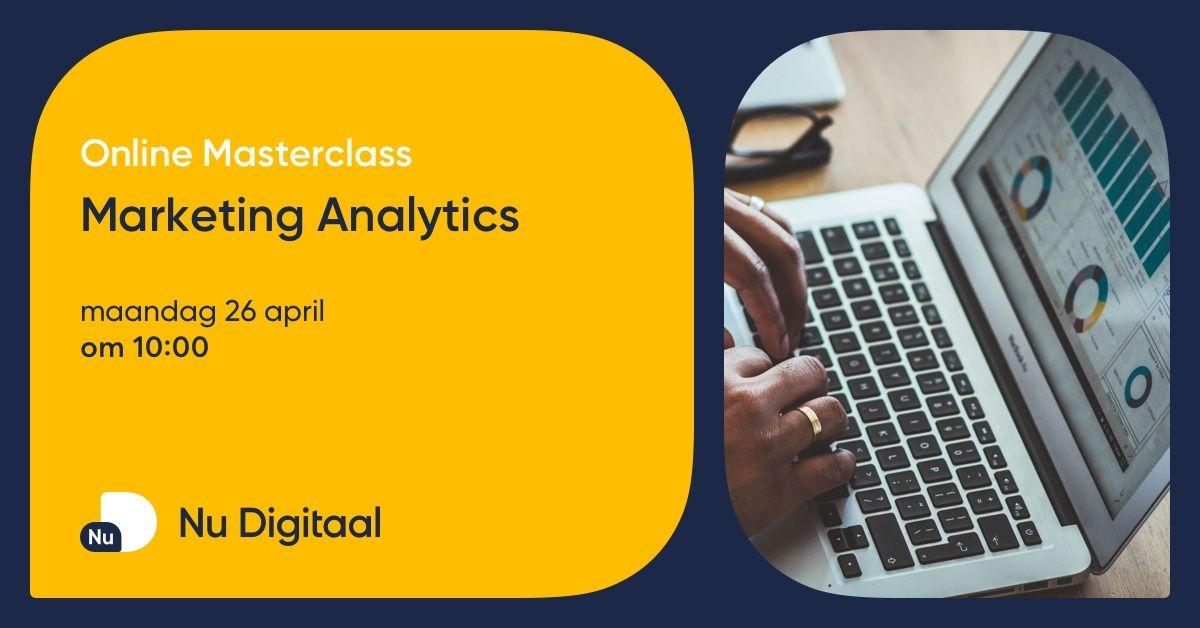 test Twitter Media - Hoe zorg je ervoor dat je de marketingactiviteiten van je onderneming kan optimaliseren? 🙏 In de masterclass Marketing Analytics leer je hoe je aan de slag kan om je resultaten te verbeteren. ✅ Schrijf je nu gratis in voor masterclass op 26 april: https://t.co/Mc81cSHBPU https://t.co/5B4vA7kOjp