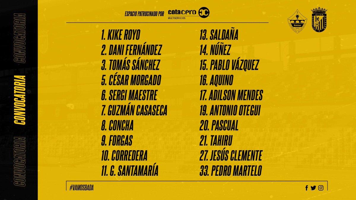 Hoy, tras un año sin poder ver a nuestro @CDBadajoz ... hoy estaremos en #Sanse para apoyar al equipo. Con ganas de ver en el campo a este Badajoz con números de ascenso a segunda.  #VamosBada ⚪️⚫️