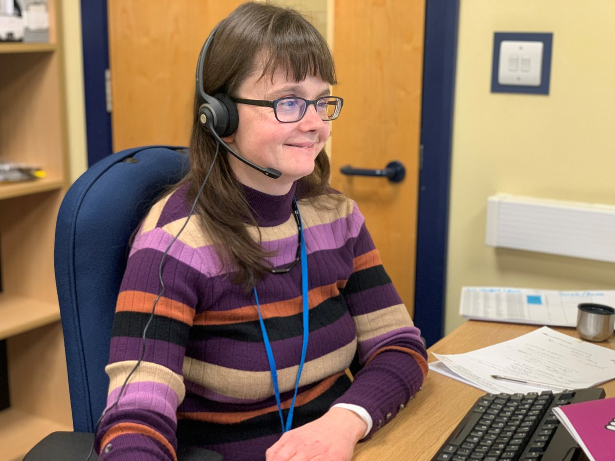 test Twitter Media - Deafblindness can be incredibly isolating, and can have a serious impact on mental health ☎️ Through their helpline, @DeafblindUK is identifying people in distress and our £42,000 grant is funding intensive wellbeing and emotional support packages 💙 https://t.co/44CCXkXDxD