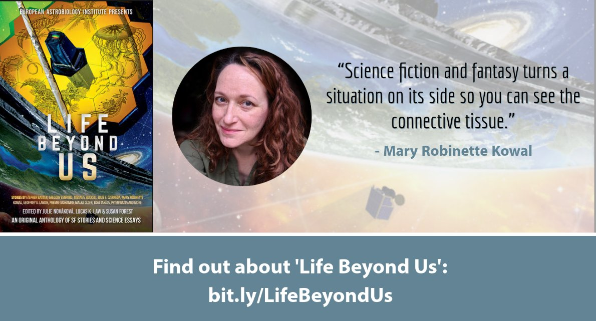 Julie Novakova is editing 'Life Beyond Us' (@Julianne_SF)   Twitter