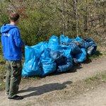 Image for the Tweet beginning: Die Trash Buster unterwegs. Auf