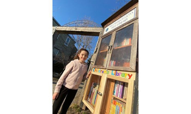 test Twitter Media - A Lions Club free library sparks service in a local Hillsburgh youth, who builds a kids' section to be placed under the main bookshelf. 🦁 📚 ➡️ https://t.co/jwMF619lsd https://t.co/RBlDW3LWLL