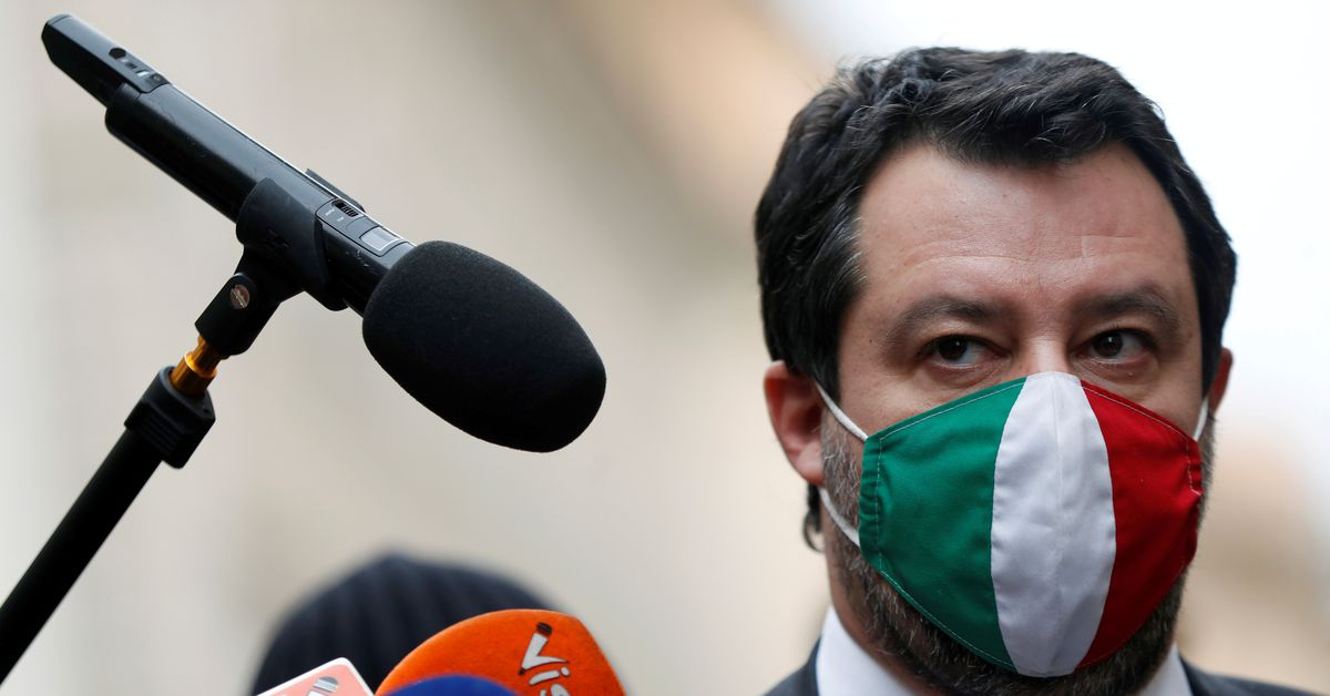Italy's Salvini sent to trial on migrant kidnapping charge https://t.co/KraAzcgLfg https://t.co/9RPump10sY