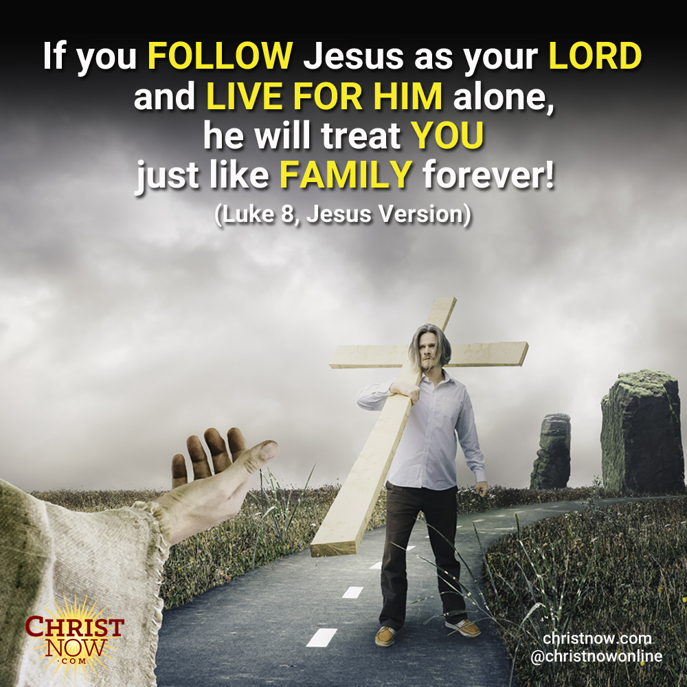 He will treat you just like family forever!  #christ #christian #christianity #bible #faith #hope #believe #christianfamily  #christianunity #scripture #christawakening https://t.co/eFsQkWiZg5
