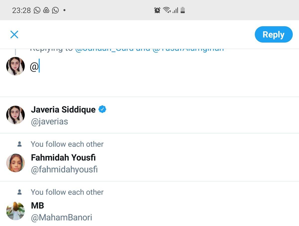 @Jahaan_Gard @YusafAlamgirian Well its @MahamBanori 😄