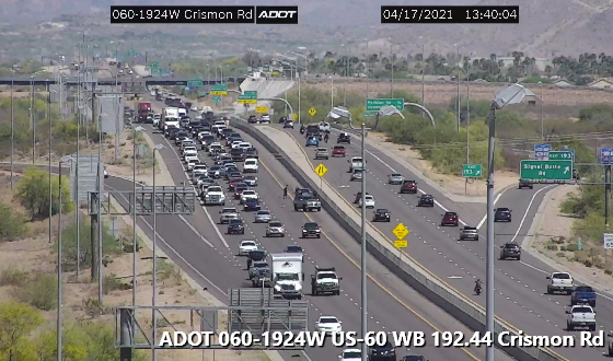 Image posted in Tweet made by Arizona DOT on April 17, 2021, 8:43 pm UTC