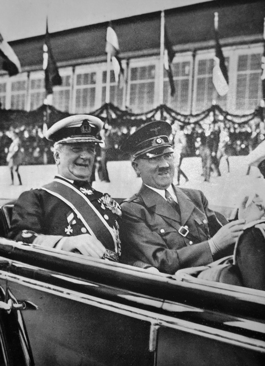 Admiral Miklós Horthy, Regent of Hungary, has refused a personal request from Hitler to deport 800,000 Hungarian Jews to Nazi concentration camps- declaring that despite Axis alliance, Hungary will not surrender its citizens. https://t.co/Ff4pRRmMtJ