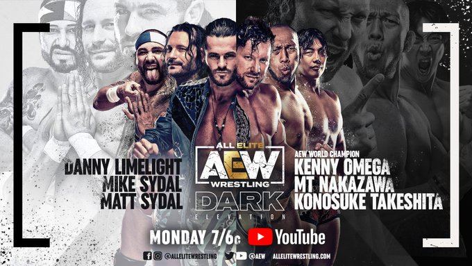 Kenny Omega Match Announced For AEW Dark: Elevation