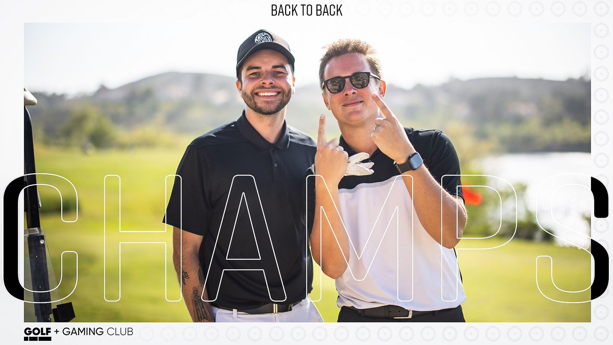 Esports taking over golf now.