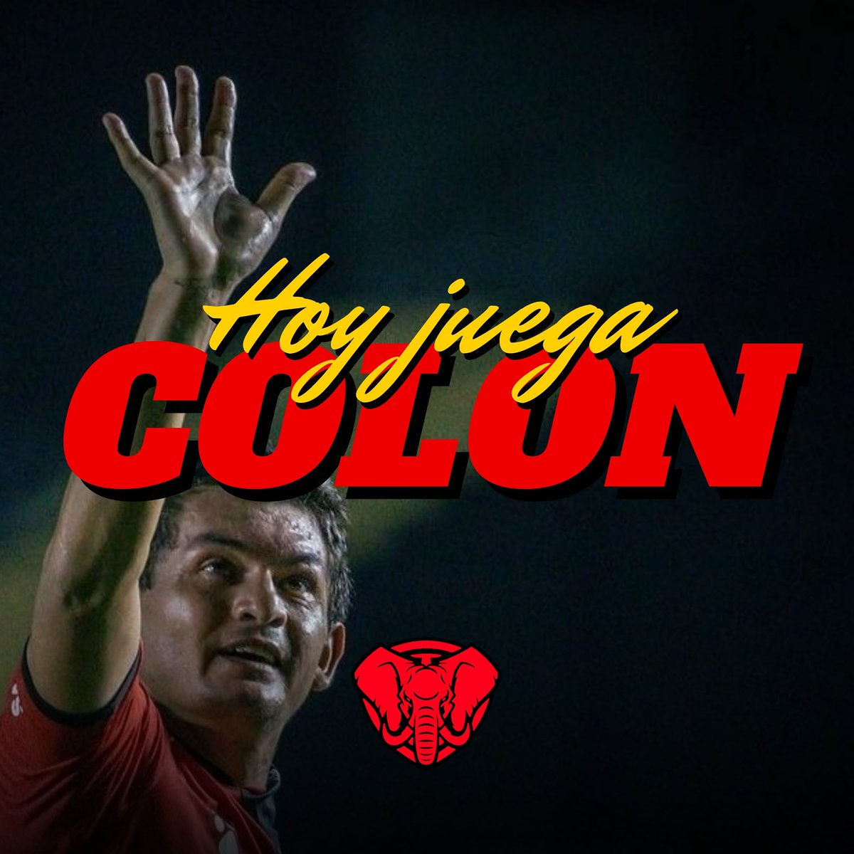 RT @PrimeroColon: ¡HOY JUEGA COLÓN! DALE NEGRO🔴⚫ https://t.co/zzTGM81snk