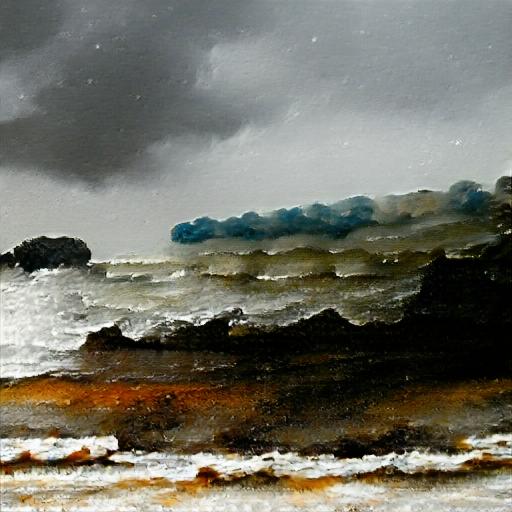 Big Sleep - Stormy Seascape