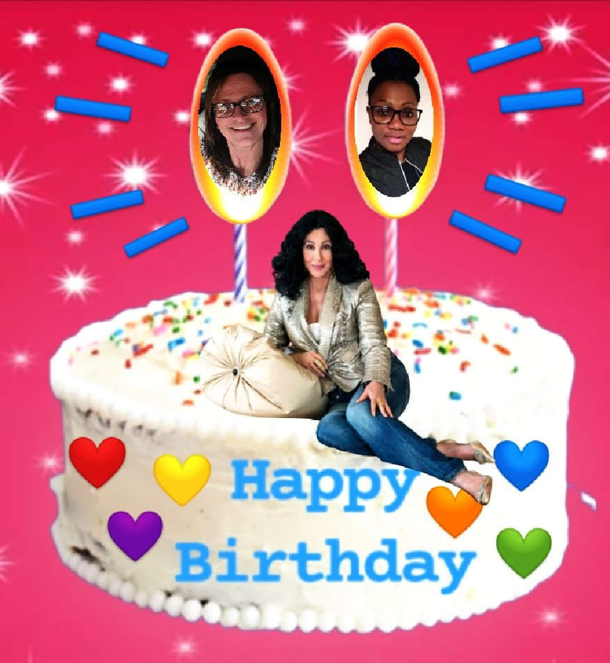 @cher Our birthday week ends tonight😭 so Im going to try one more time🤔 Could you please send my Sis @vikycherpauly & I some beautiful wishes or even a like🙏🏼 It would mean the 🌎 to both of us. 🙌🏼 WE❤️YOU 💋 #chersistersforever