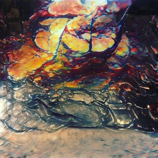 BigSleep - Acrylic Pour Painting
