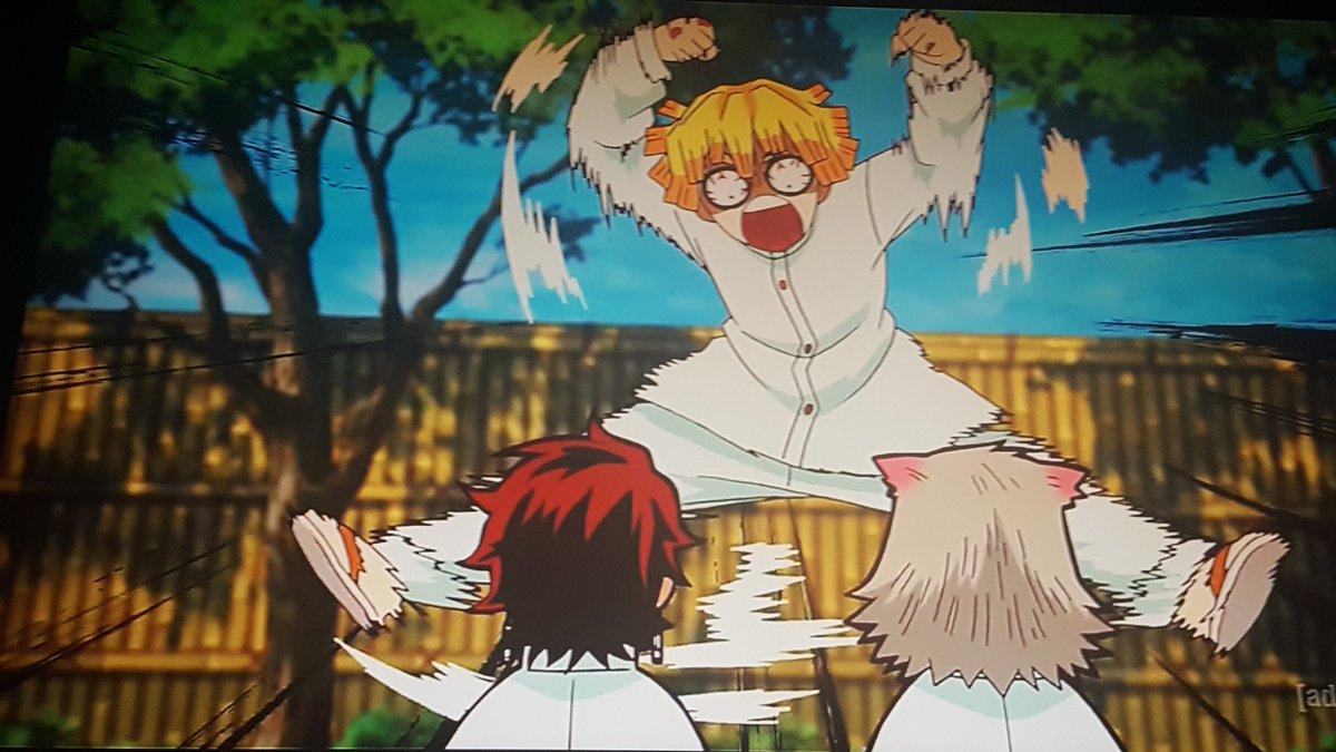 AYE YAI YAI YAI YAI, ZENITSU! #DemonSlayer #DemonSlayerKimetsuNoYaiba #KimetsuNoYaiba #Anime #Toonami