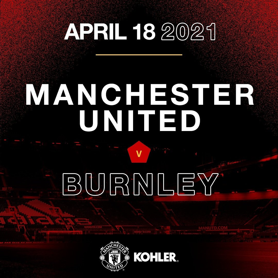 Burnley meets the Red Devils at the Theatre of Dreams. Lets go United KohlerUnited MUFC KohlerUnited https t