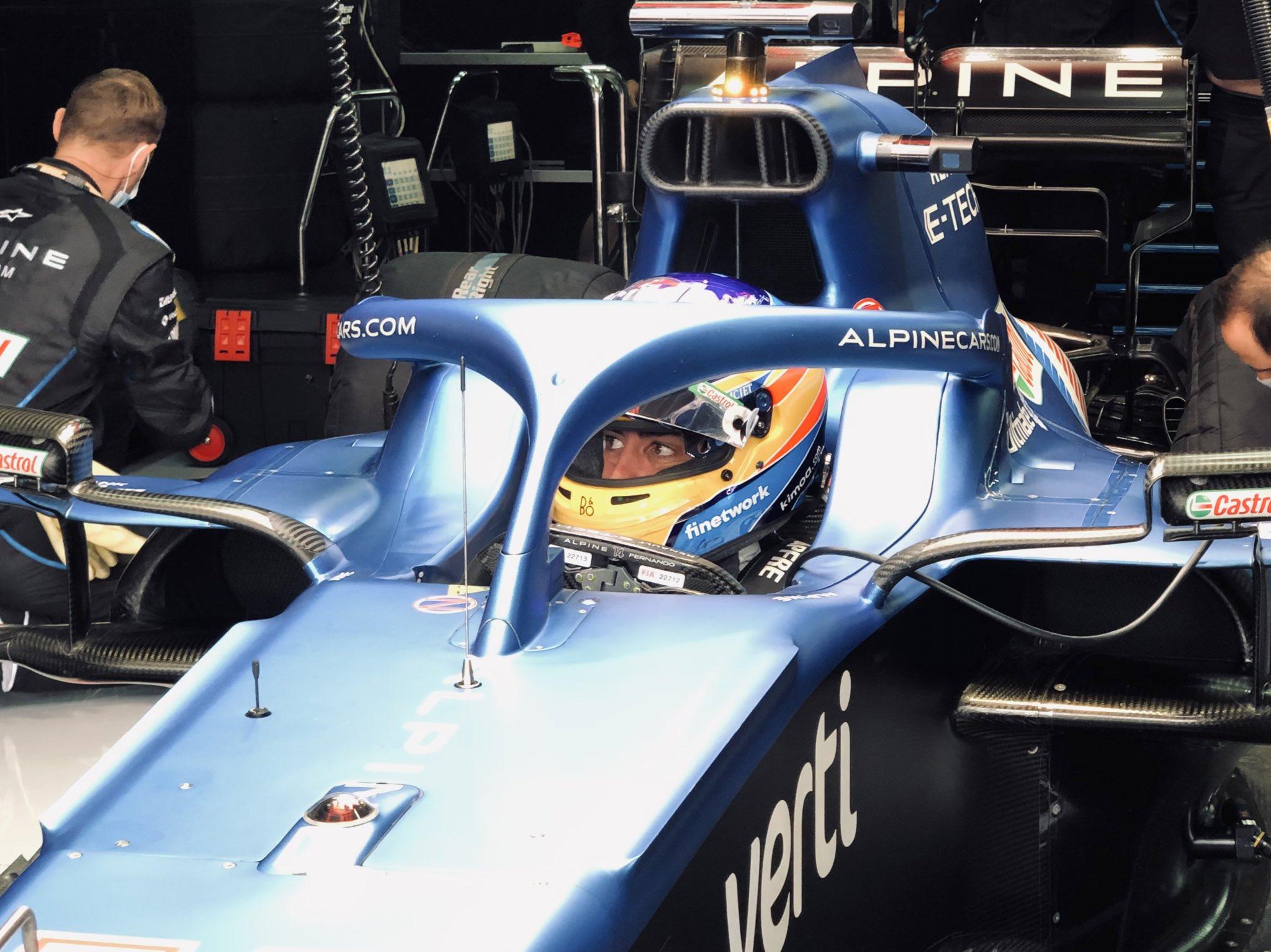 F1 Alonso competitivo gare