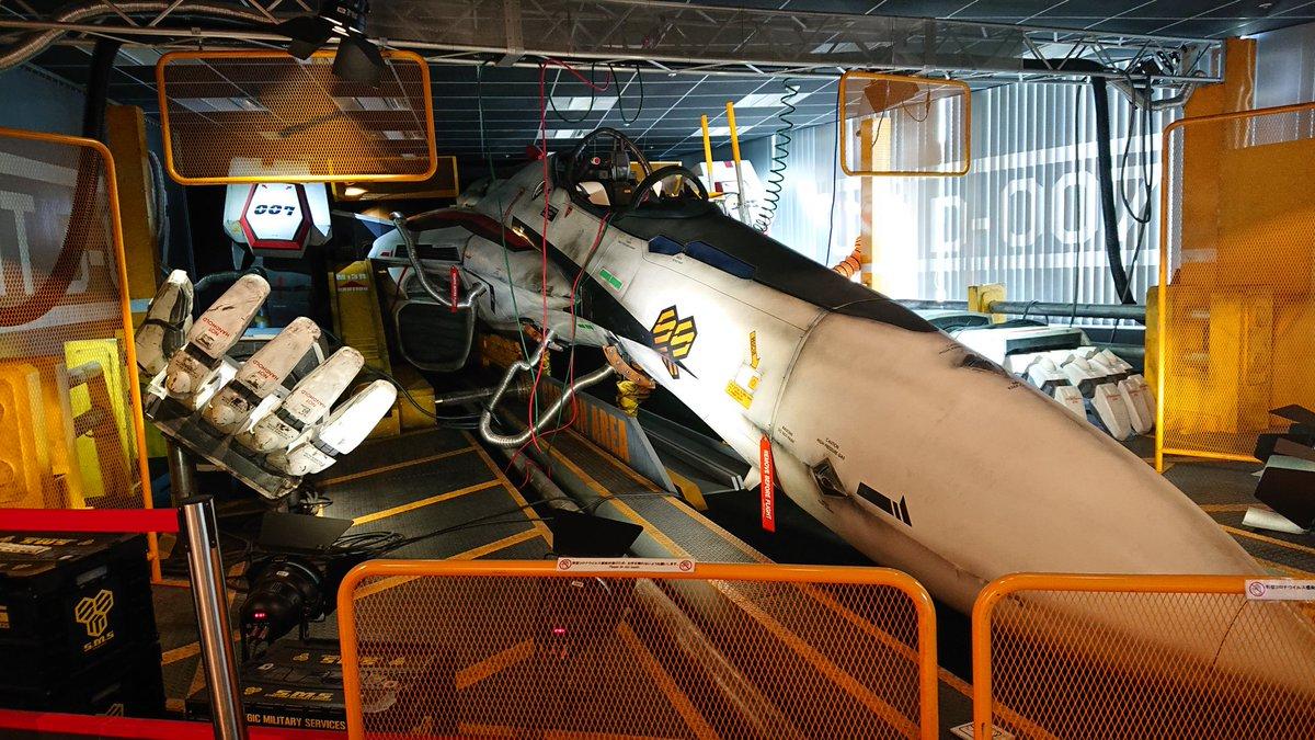 見たい!スカイツリーに実物大の初号機とバルキリーが展示されている!