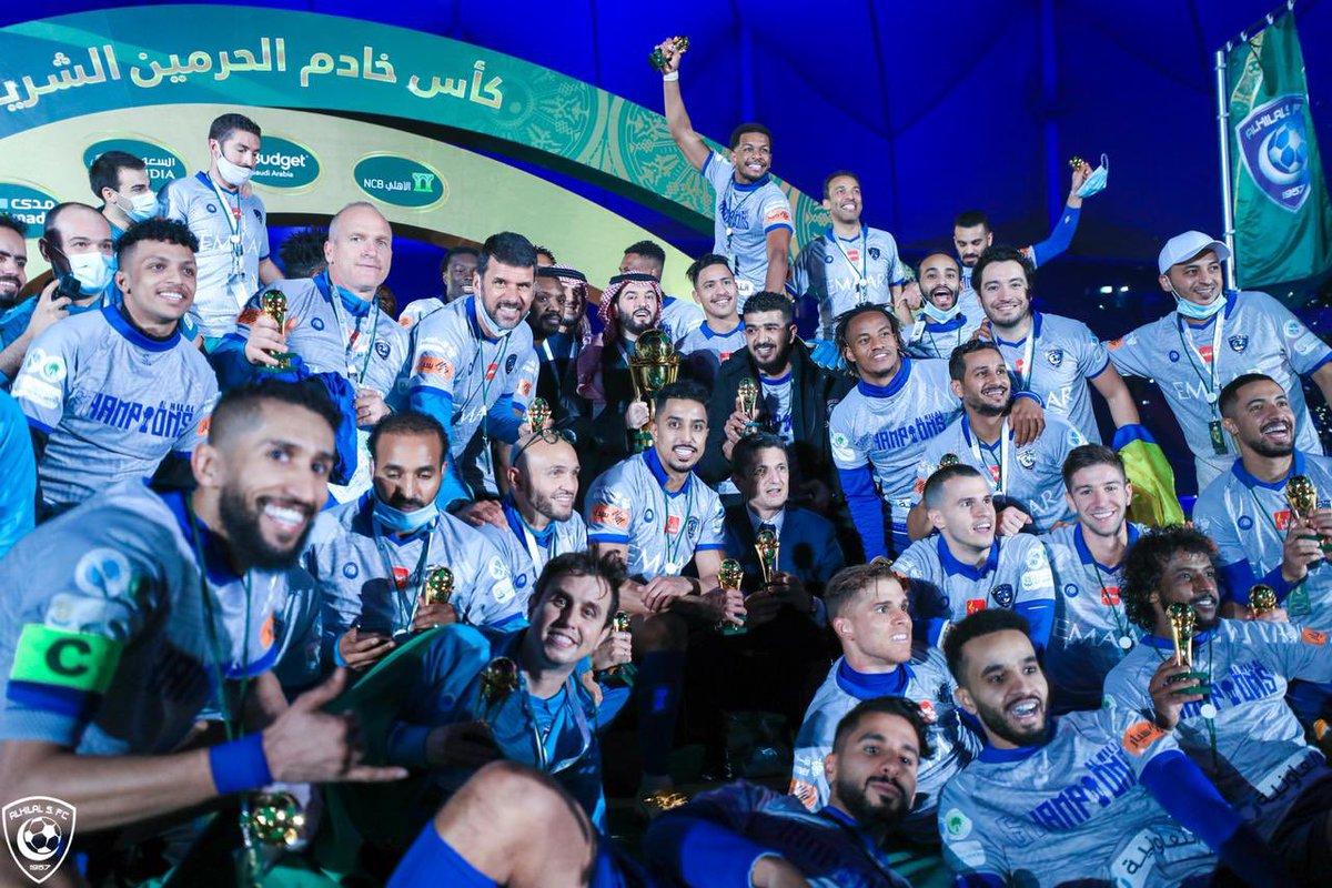 الهلال يعد آخر فريق حقق بطولة كأس خادم