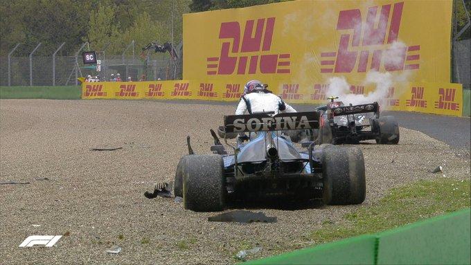 Immagine incidente Imola