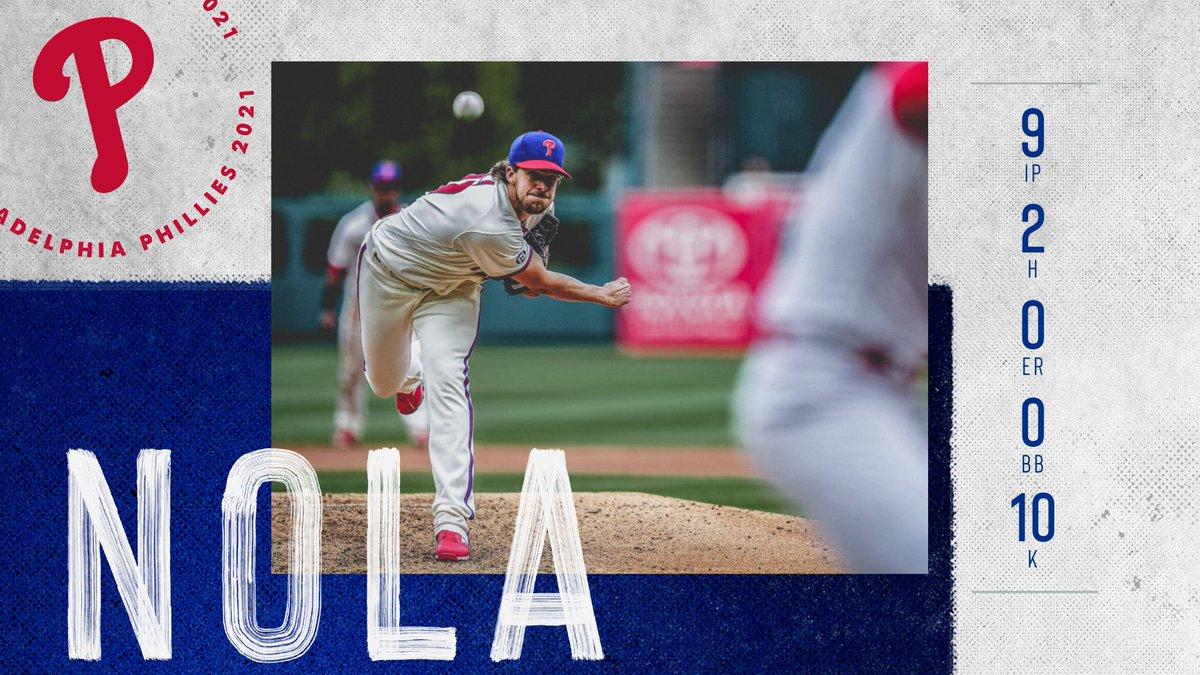 @Phillies's photo on Aaron Nola