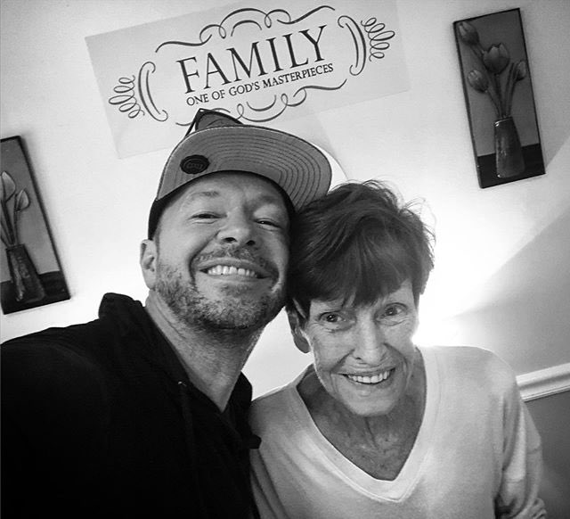 @DonnieWahlberg's photo on #RIPAlma