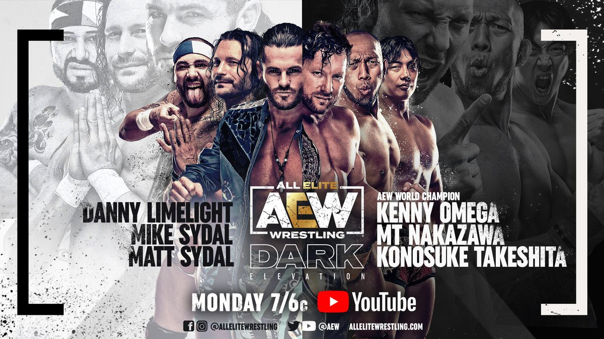 Matches Announced For 4/19 AEW Dark: Elevation