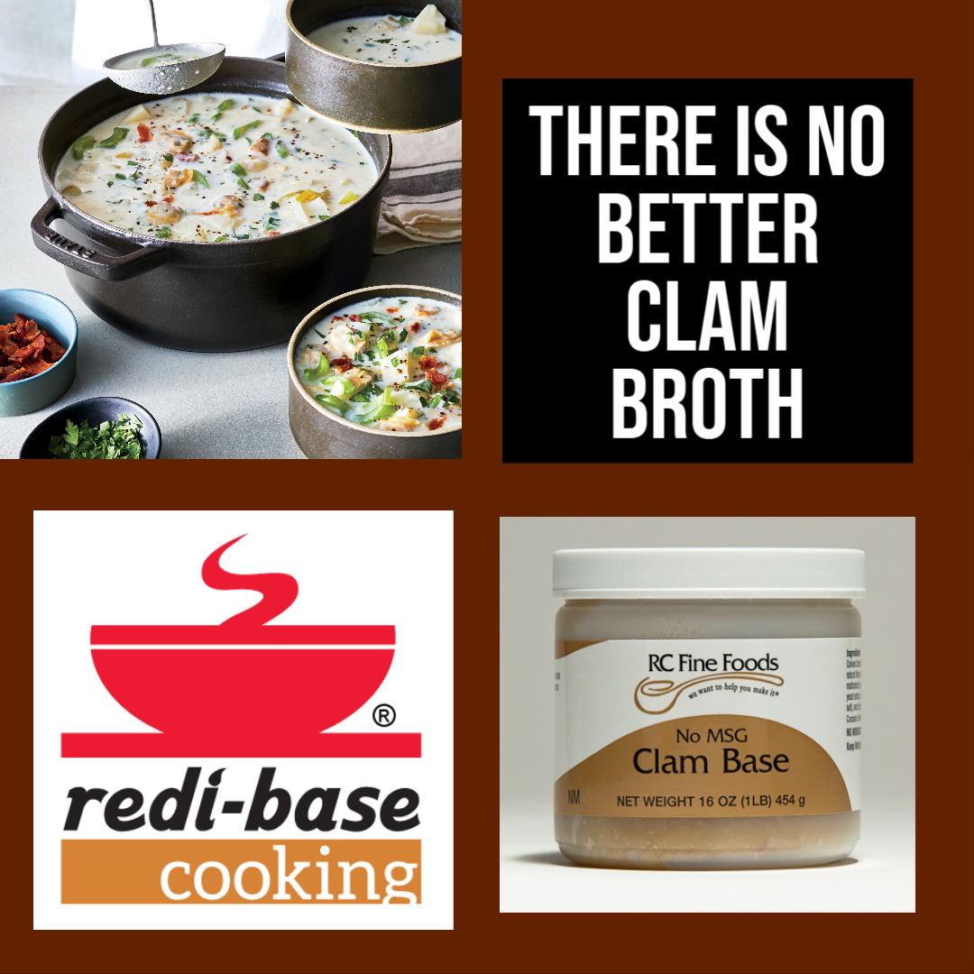 #RedibaseCooking Bases are formulated for Chefs.  https://t.co/2PuNefSwzP A complete line of #seafood #lowsodium #vegan #stews #soupbase #plantbased #springsoups #soupdiet #10minutemeal #kitchengadgets #shrimp #crab #lobster #fish #clam #recipeshare #glutenfree https://t.co/XD5DdyV4Qz
