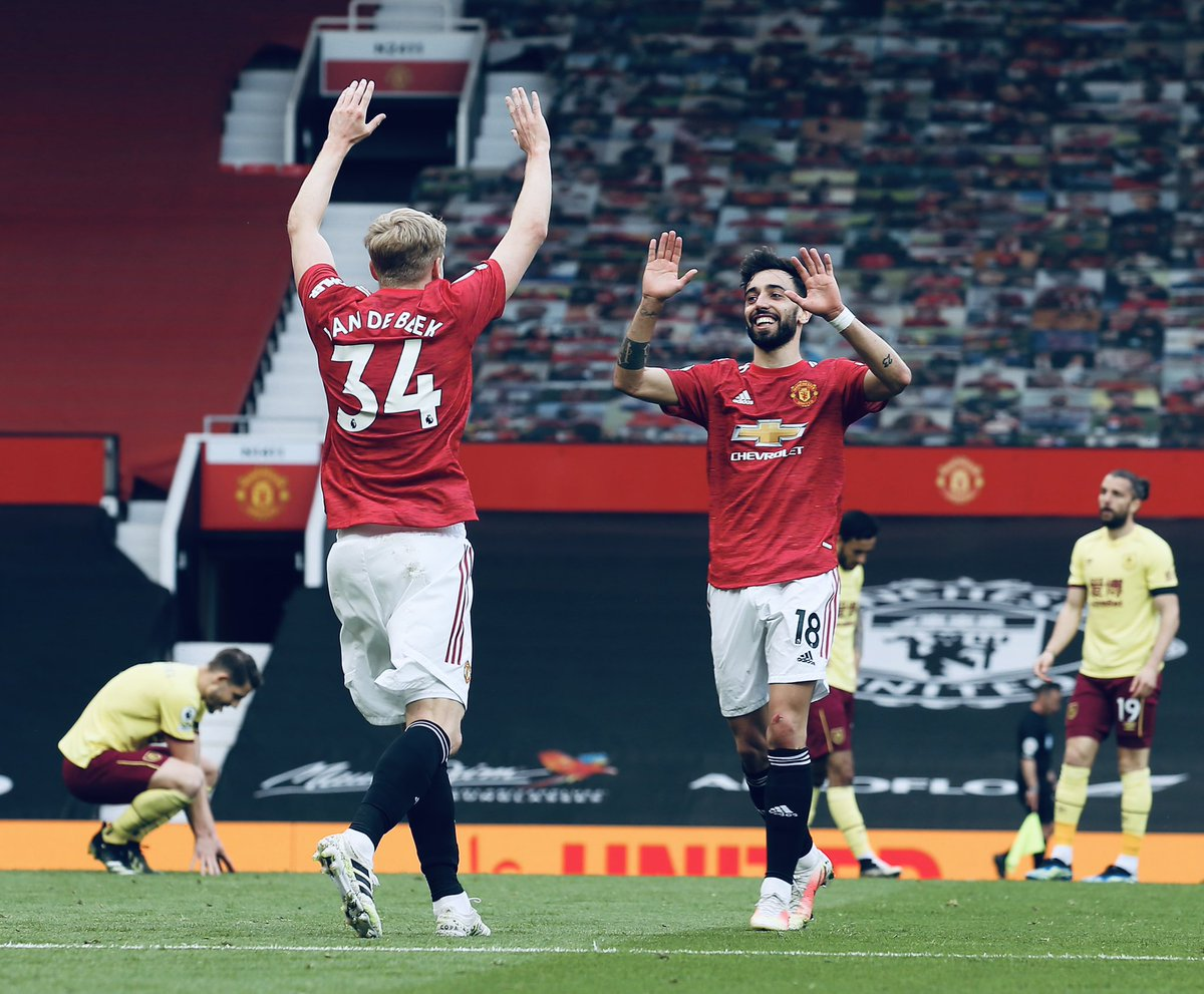 Donny boy!! @Donny_beek6  What a way to celebrate your birthday 🙌🏼🎂🥳  Another 3 points! Let's keep making winning an habit 💪🏻🔴⚫️ #mufc https://t.co/zadTaTpNJ5
