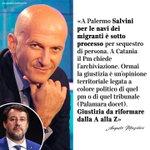 Image for the Tweet beginning: Augusto #Minzolini: «A Palermo #Salvini