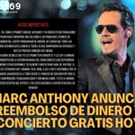 Image for the Tweet beginning: Marc Anthony anunció que ha